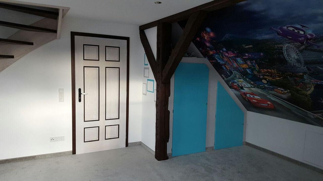 Wohnräume Dachboden